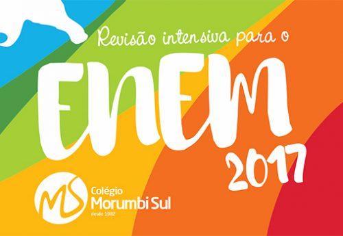 Morumbi Sul promove Revisão Intensiva para o ENEM