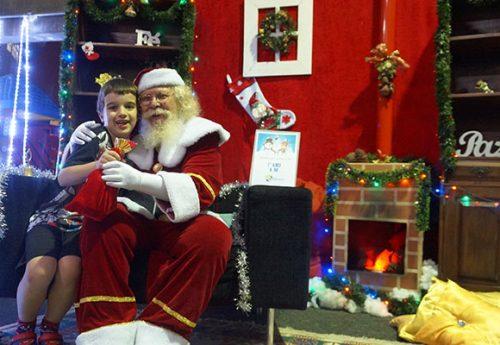Noite do Papai Noel – magia de Natal