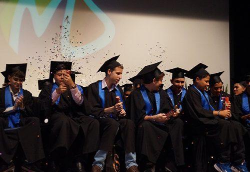 Colação de grau: Fundamental II e Ensino Médio