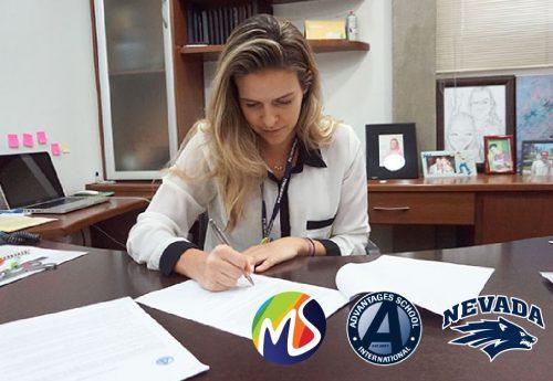 Contrato firma parceria internacional