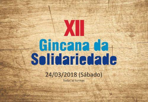 XII Gincana da Solidariedade – 24/03 (Sábado)