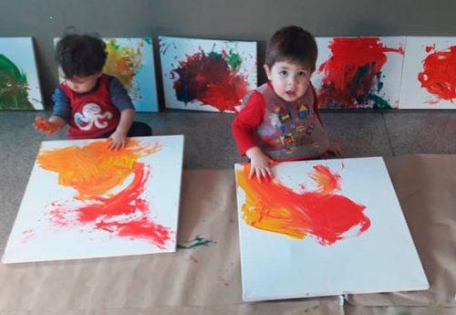 """Os """"artistas"""" do Berçário MS"""