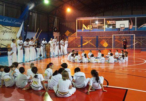 Demonstração de capoeira