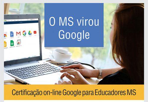 Certificação Google para educadores MS