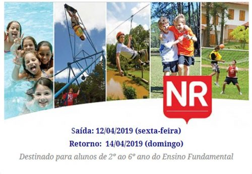 #Partiu NR 2019 – 2º ao 6º ano