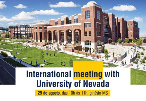 International meeting with University of Nevada