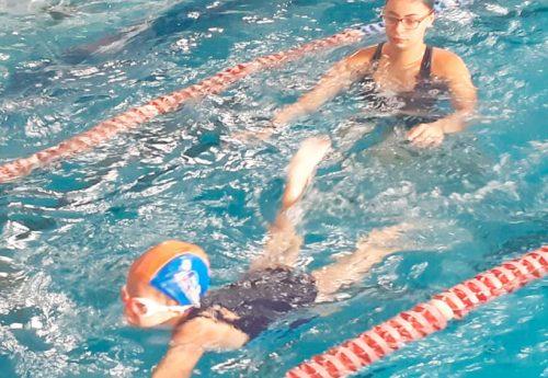Festival de natação e as conquistas dos alunos