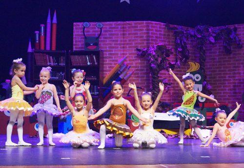 Espetáculo de balé e dança