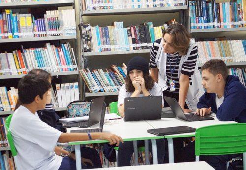 O Programa de Ensino Internacional no MS