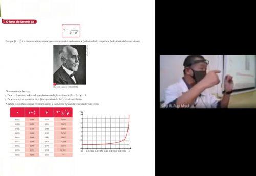 Alunos do Morumbi Sul e a Teoria da Relatividade de Einstein