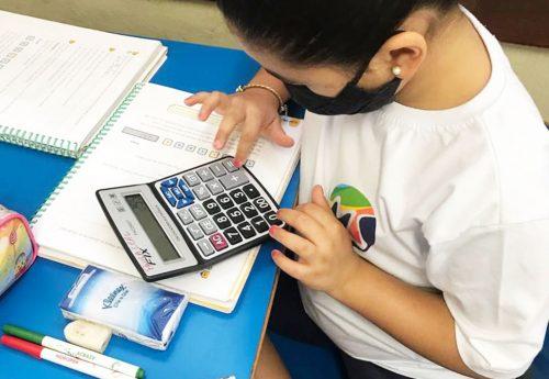 A calculadora e suas funções